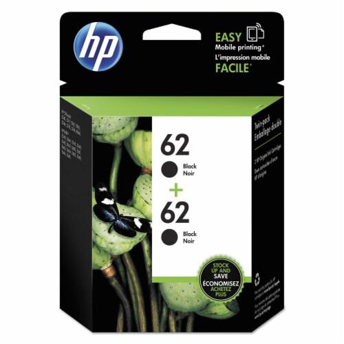 HP 62 Original Ink Cartridges - Black Perspective: front