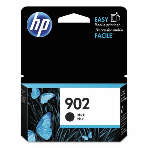 HP 902 Original Ink Cartridge - Black Perspective: front