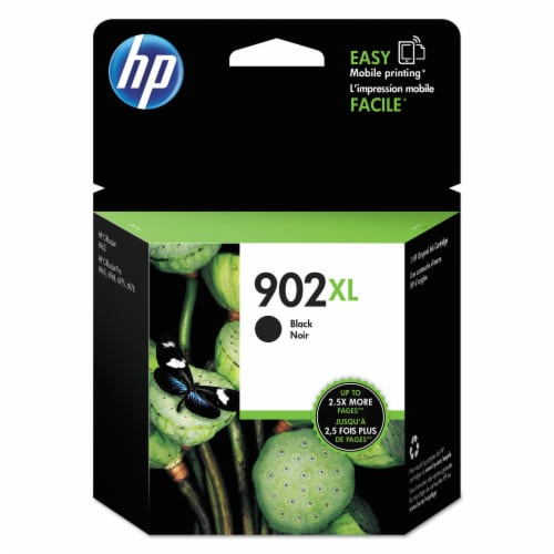 HP 902XL Original Ink Cartridge - Black Perspective: front