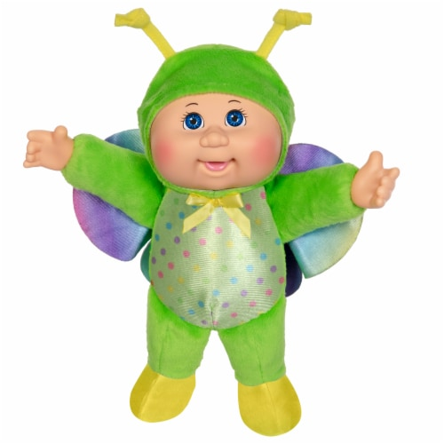 Cabbage Patch Kids Rainbow Garden Party Cuties Butterfly Stella Doll Perspective: front