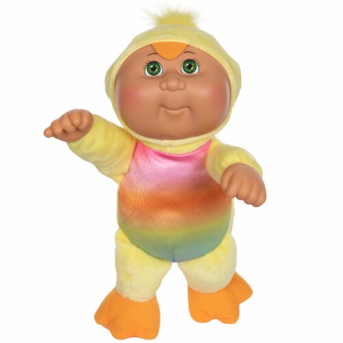 Cabbage Patch Kids Rainbow Garden Party Cuties Chick Lennon Doll Perspective: front