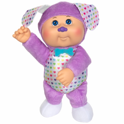 Cabbage Patch Kids Rainbow Garden Party Cuties Puppy Sadie Doll Perspective: front