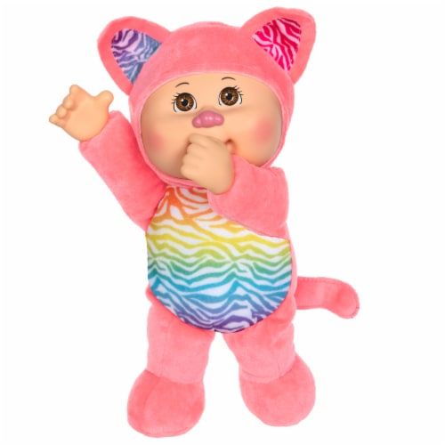 Cabbage Patch Kids Rainbow Garden Party Cuties Kitty Gala Doll Perspective: front