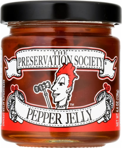 The Preservation Society Pepper Jelly Perspective: front
