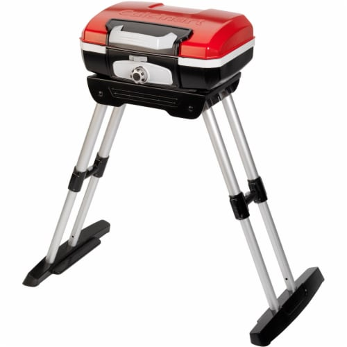 Cuisinart Petit Gourmet Portable Outdoor Gas Grill Perspective: front