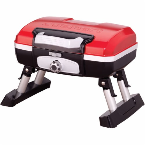 Cuisinart Portable Tabletop Outdoor Gas Grill - Red Perspective: front