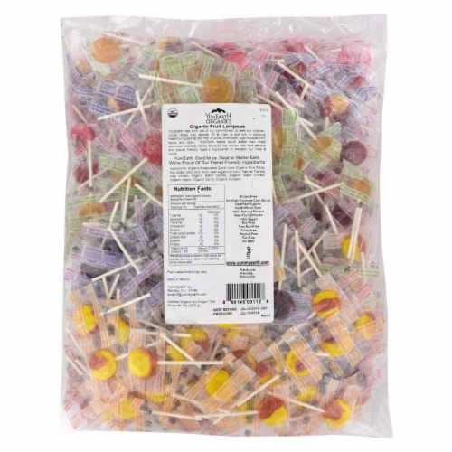 Yum Earth Organic Lollipops Variety Pack Perspective: front