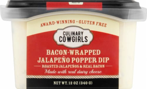 Culinary Cowgirls Bacon-Wrapped Jalapeno Popper Dip Perspective: front