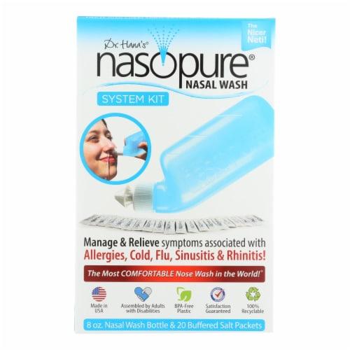 Dr. Hana's Nasopure Nasal Wash System Kit Perspective: front
