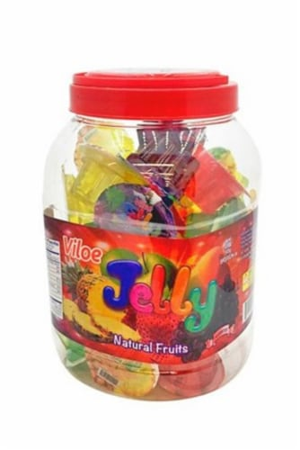 Viloe Jelly Natural Fruit Candies Perspective: front