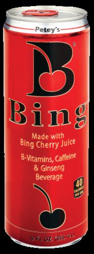 Bing® Cherry Juice Beverage Perspective: front