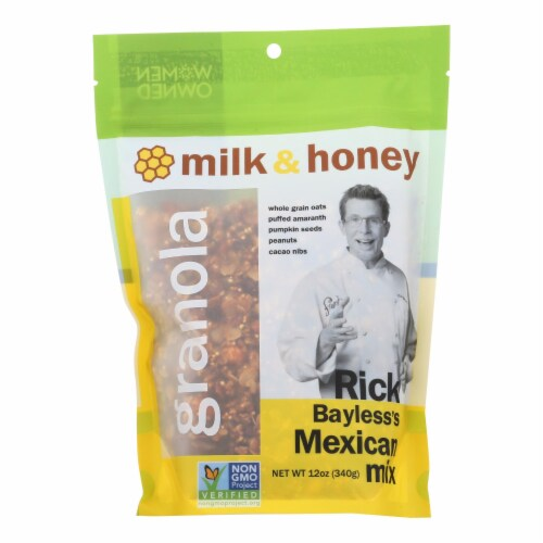 Milk & Honey Granola Rick Bayless Mexican Mix Perspective: front