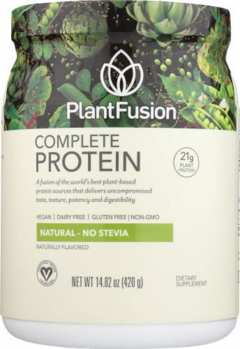 PlantFusion Natural Complete Plant Protein Powder Perspective: front