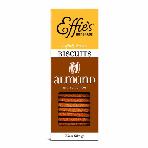 Effies Homemade Almond Biscuits Perspective: front