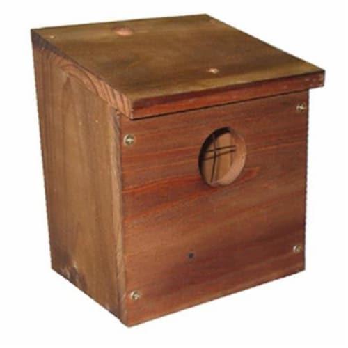 Dakota Alert Birdhouse Unassembled Kit Perspective: front
