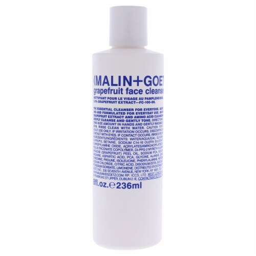 Grapefruit Face Cleanser by Malin + Goetz for Women - 8 oz Cleanser Perspective: front