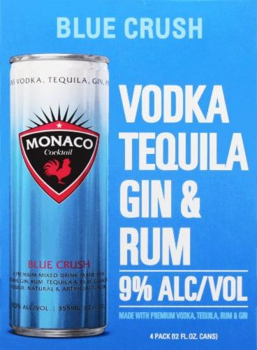 Monaco Blue Crush Malt Beverage Perspective: front