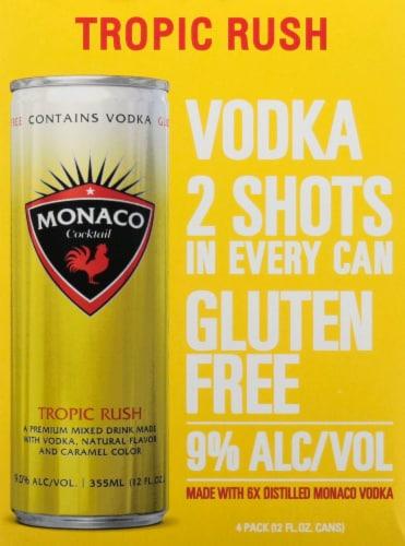 Monaco Tequila Lime Crush Malt Beverage Perspective: front