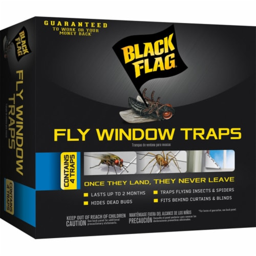 Black Flag Fly Trap - Case Of: 1; Each Pack Qty: 4; Total Items Qty: 4 Perspective: front