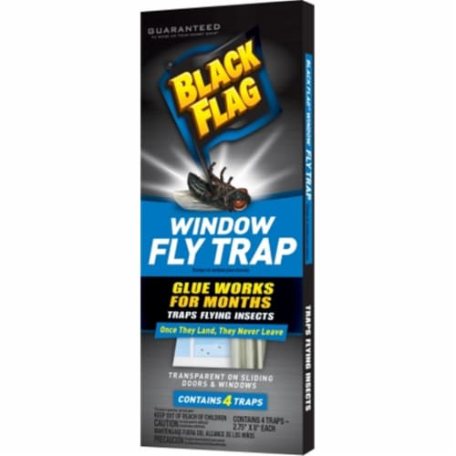 Black Flag Fly Trap - Case Of: 24; Each Pack Qty: 4; Total Items Qty: 96 Perspective: front