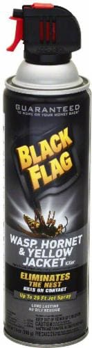 Black Flag Wasp Hornet and Yellow Jacket Killer Spray Perspective: front