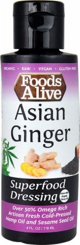 Ralphs Foods Alive Superfood Dressing Asian Ginger 4 Fl Oz