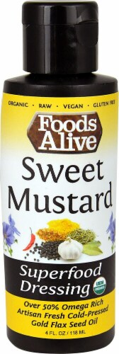 Foods Alive Sweet Mustard Superfood Dressing Perspective: front