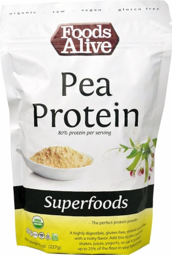 Foods Alive  Organic Pea Protein Superfoods Perspective: front