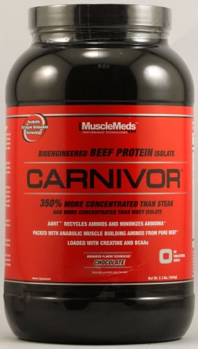 MuscleMeds Carnivor™ - Chocolate Perspective: front
