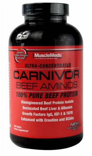 MuscleMeds  Carnivor™ Beef Aminos Perspective: front