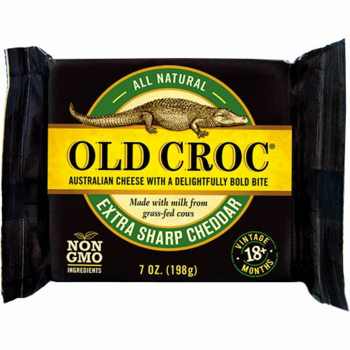 Old Croc Extra Sharp Cheddar Perspective: front