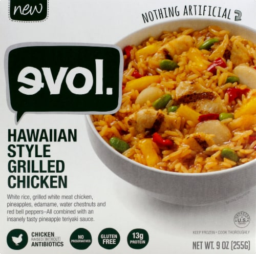 Evol Hawaiian Style Grilled Chicken Perspective: front