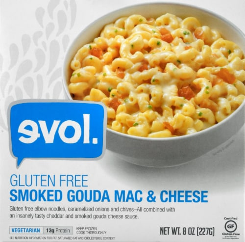 evol. Gluten Free Smoked Gouda Mac & Cheese Perspective: front
