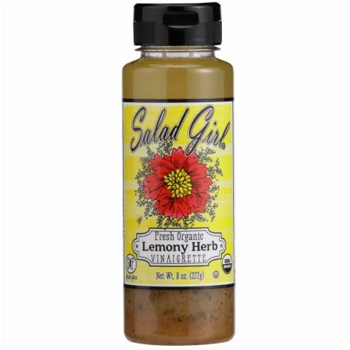 Salad Girl Lemony Herb Organic Salad Dressing Perspective: front