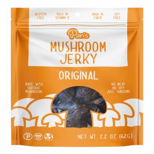 Pan's  Mushroom Original Jerky Perspective: front
