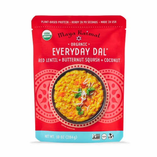 Maya Kaimal Organic Red Lentil + Butternut Squash + Coconut Everyday Dal Perspective: front