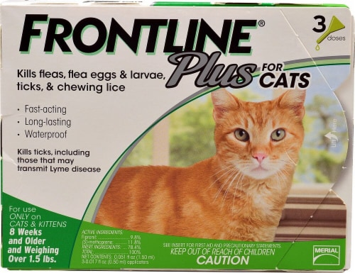 Frontline Plus  for Cats Perspective: front