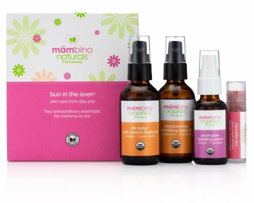 Mambino Organics  Naturals Fresh Beauty Bun In The Oven™ Skin Care From Day One Perspective: front