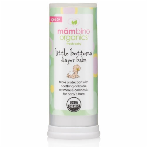 Mambino Organics Fresh Baby Diaper Balm Perspective: front