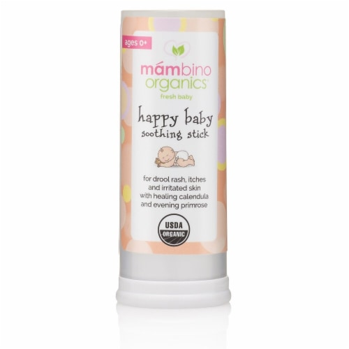 Mambino Organics  Fresh Baby Happy Baby Soothing Stick Ages 0+ Perspective: front