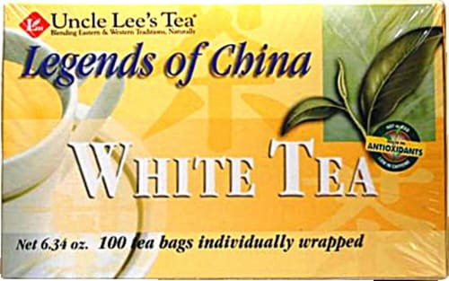 Uncle Lee's  Legends of China White Tea Perspective: front