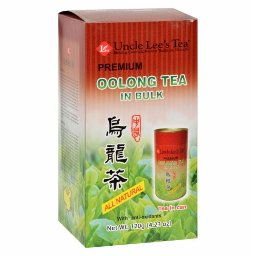 Uncle Lee's  Oolong Tea in Bulk Perspective: front