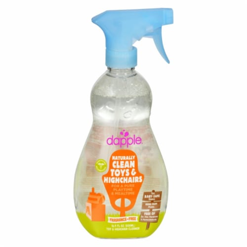 Dapple Toy and High Chair Cleaner - Fragrance Free - 16.9 fl oz Perspective: front