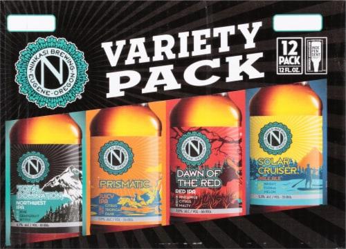 Ninkasi IPA Beer Variety Pack Perspective: front