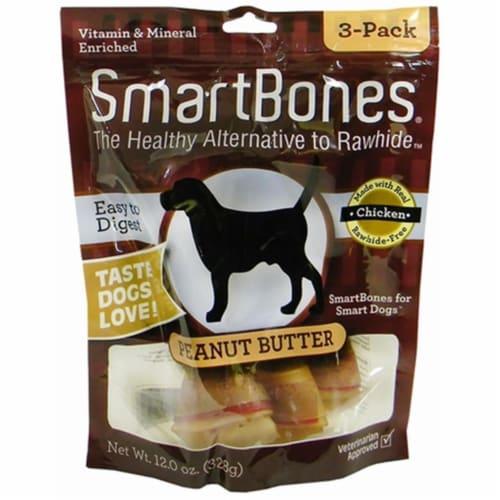 Smartbone Petmatrix 923038 Peanut Butter Large 3Pk Perspective: front