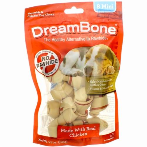 DreamBone Chicken Mini Chews Perspective: front