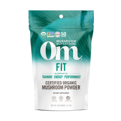 OM  Organic Mushroom Nutrition Supplement Powder - Fit Perspective: front