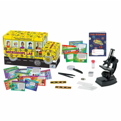The Magic School Bus™ Microscope Lab Set Perspective: front