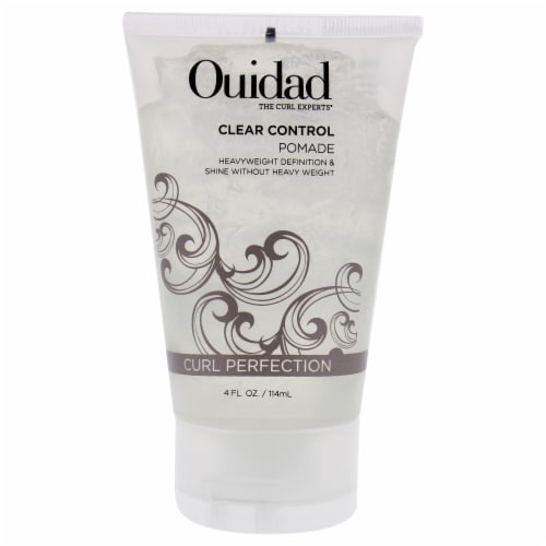 Clear Control Pomade by Ouidad for Unisex - 4 oz Pomade Perspective: front