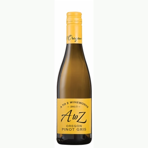 A To Z Oregon Pinot Gris White Wine Perspective: front